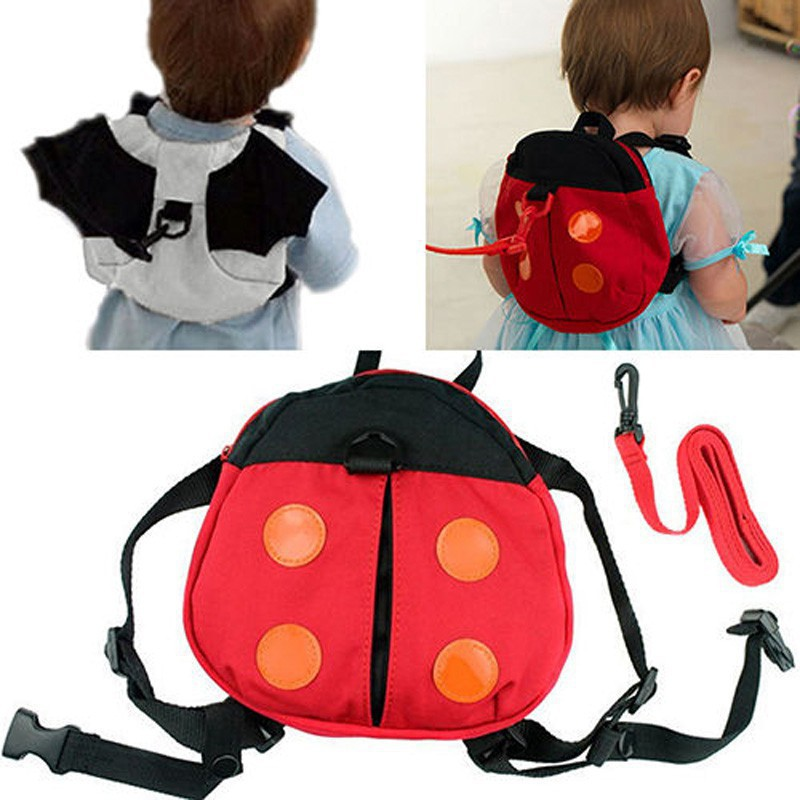 Best💓Price Baby Kids Toddler Bat Walking Safety Harness Rein Backpack  Walker Buddy Strap  66cdb84a7239c