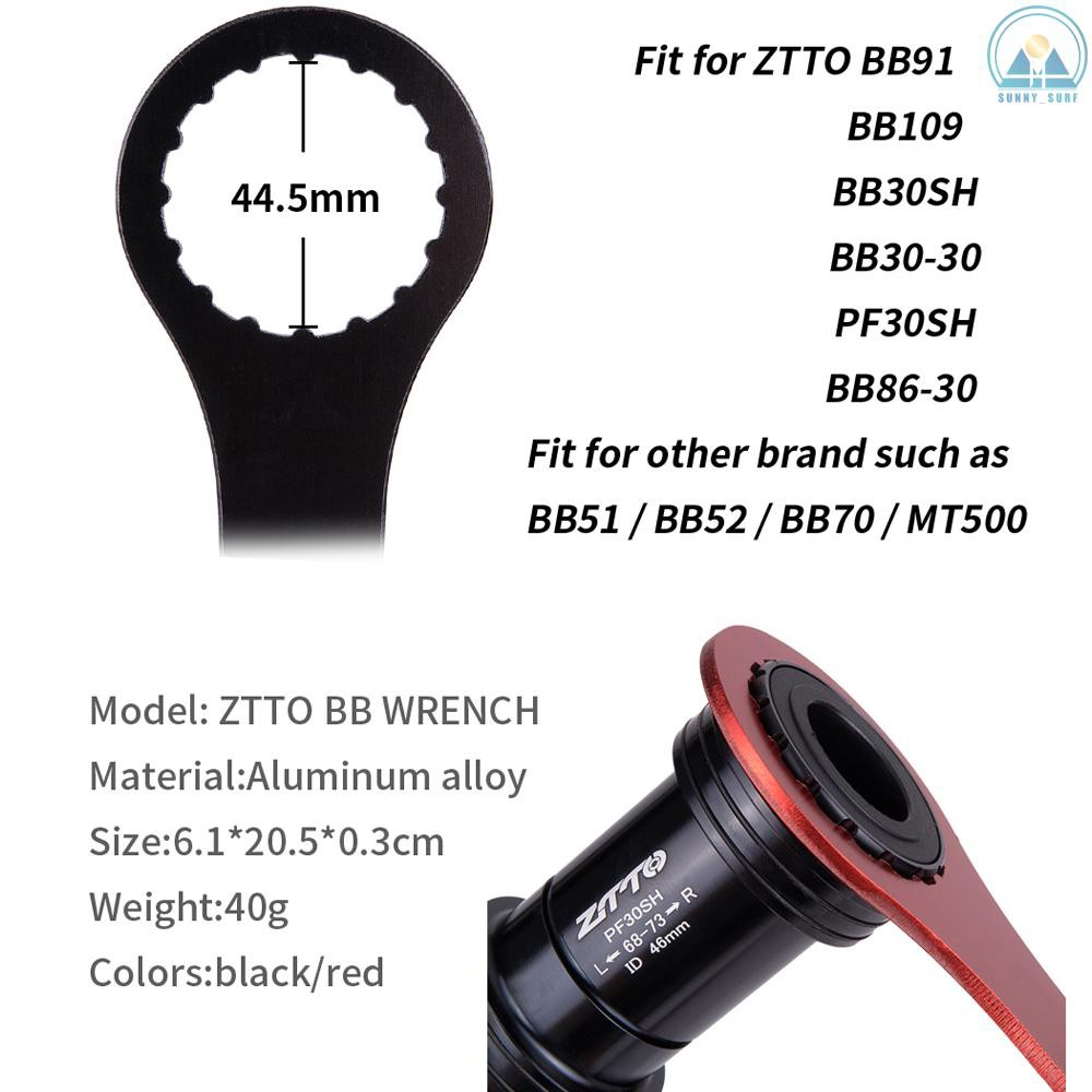 ZTTO Bottom Bracket Remover 44mm BB Repair Tool for BB109 BB30 PF30 BB91 BB86