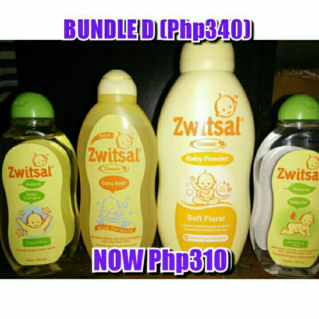 Zwitsal Bundle D | Shopee Philippines -. Source · Zwitsal Baby Powder Classic Fresh Floral 500gr - ZBB020