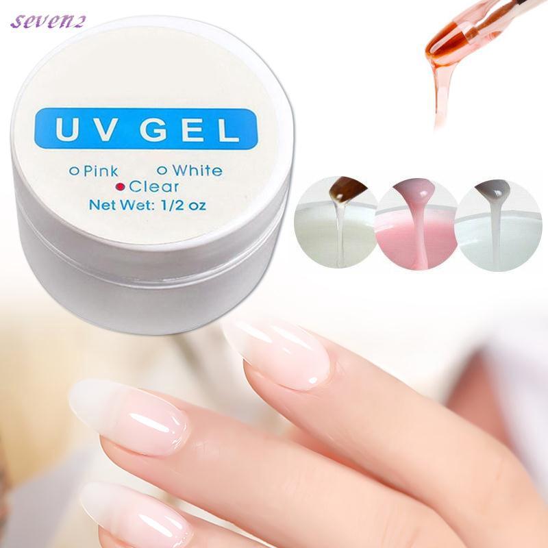 3Colors Nail art primer Top coat Builder UV Gel Nail Polish