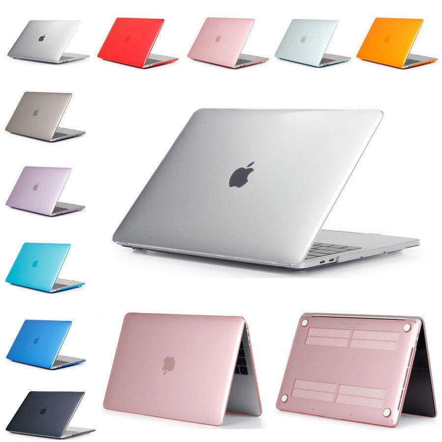 Crystal Rigid Plastic Shockproof Case Cover Shell for MacBook Air Pro 11-15 Inch