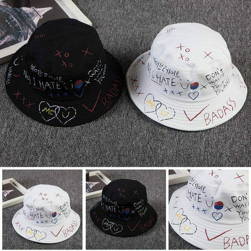 New Bucket Hat Men Women Fisherman Sun Hat Spring Summer New Harajuku style