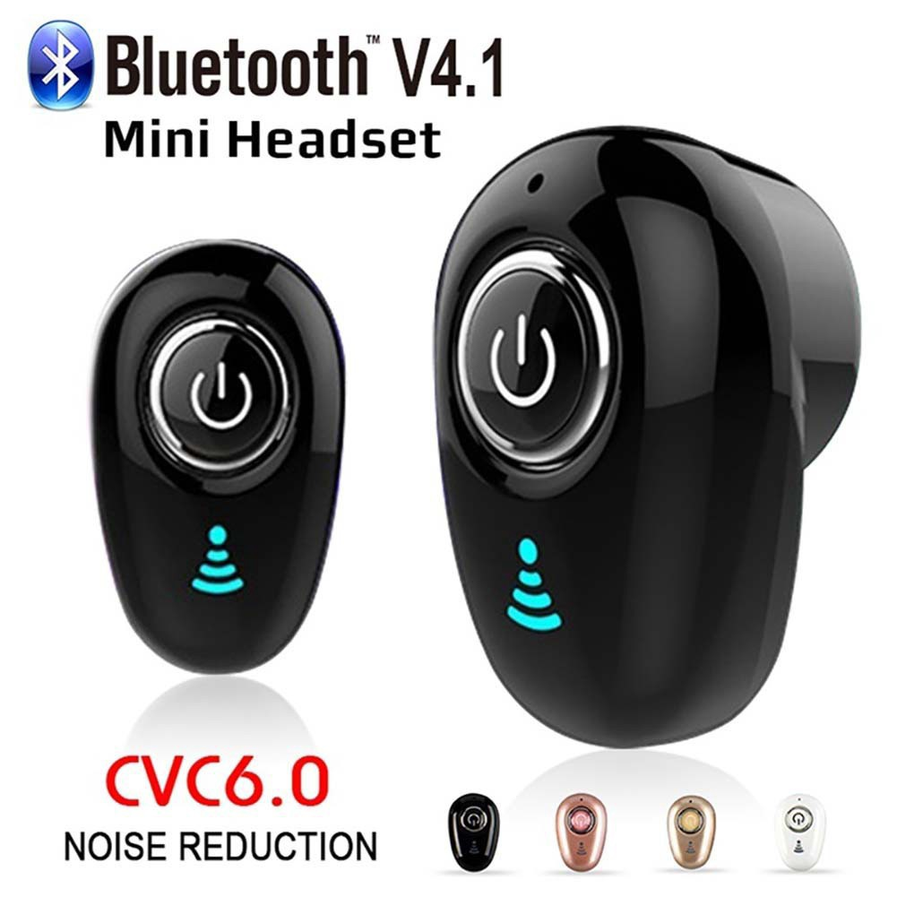 S650 Mini Bluetooth Earphone Wireless Stereo Bass Hidden Earbuds Sports Headset With Mic For phone