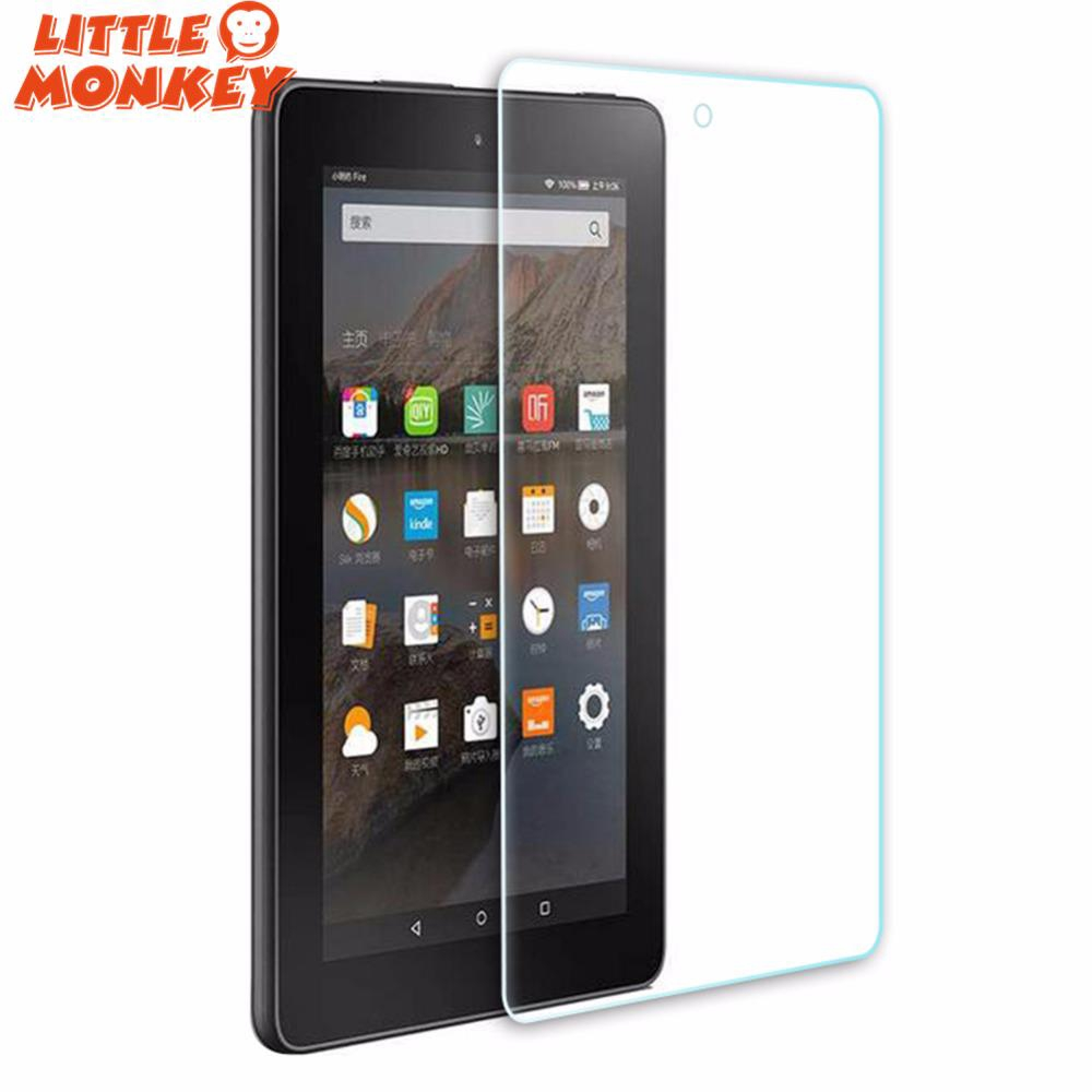 4PCS Protective LCD Screen Protector Guard Film For Amazon Kindle Fire HD 8 2016