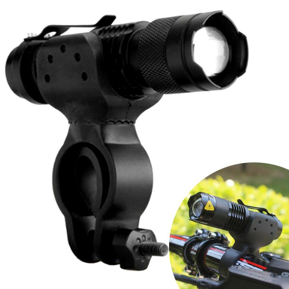 1200lm Cree Q5 LED Bike Cycling Head Front Light Bicycle Flashlight 360 Mount