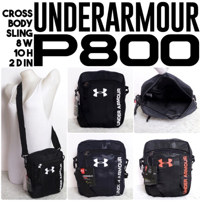 promo code feeb8 dcd99 new   authentic UNDER ARMOUR crossbody sling   Shopee Philippines