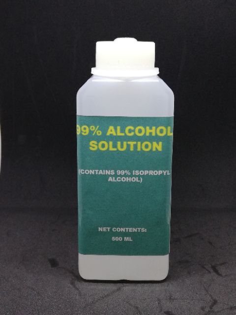 Isopropyl Alcohol 99% (IPA) (250ml, 500ml, 1L) | Shopee Philippines