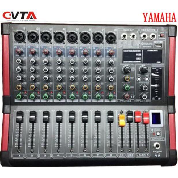Yamaha 8 Channel Powered Mixer (BT-800D)