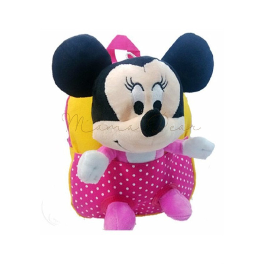 1376f9396d Kids Backpack Minnie Mickey Mouse Bag with Toy School Bag