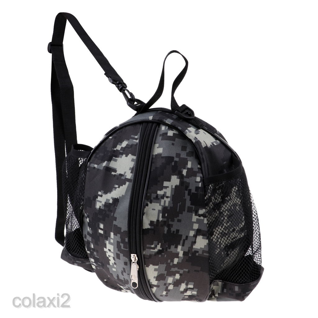 Pouch Bag for Basketball Football Storage Bag Case w// Shoulder Strap Waterproof