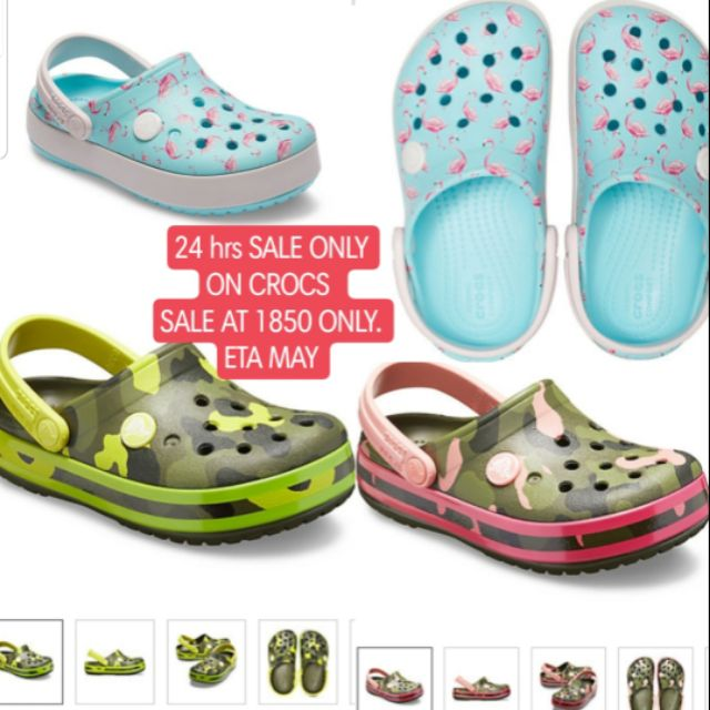 release date: 13cb0 9ac18 CROCS ON SALE 24 HRS ONLY