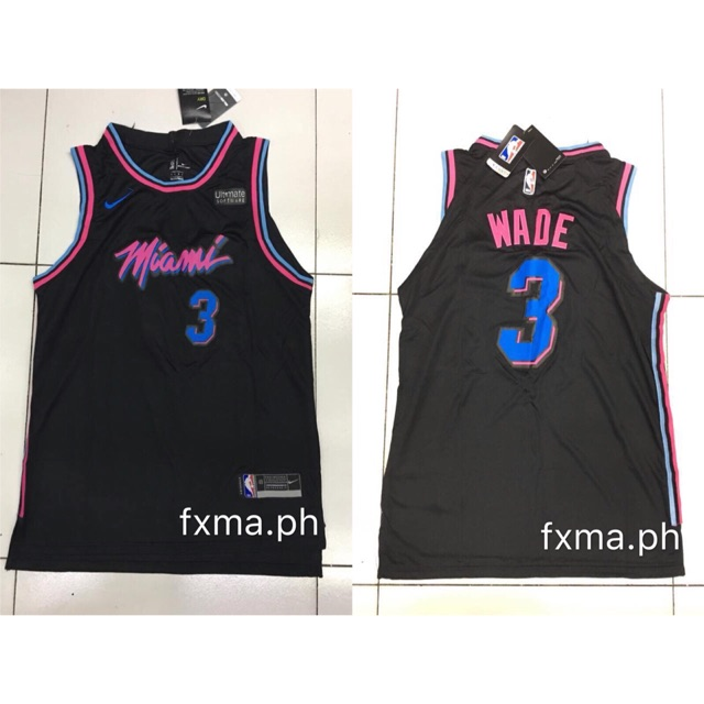 finest selection f8c59 e0c1b nba jersey Miami wade jersey replica