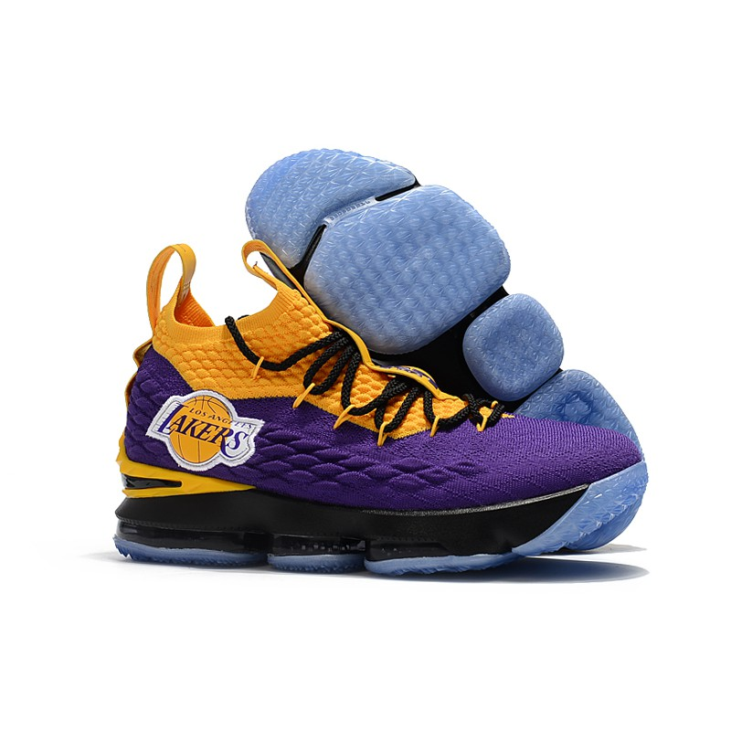 new style 33e34 3499a Nike Lebron 15 Lakers (OEM) Premium Quality