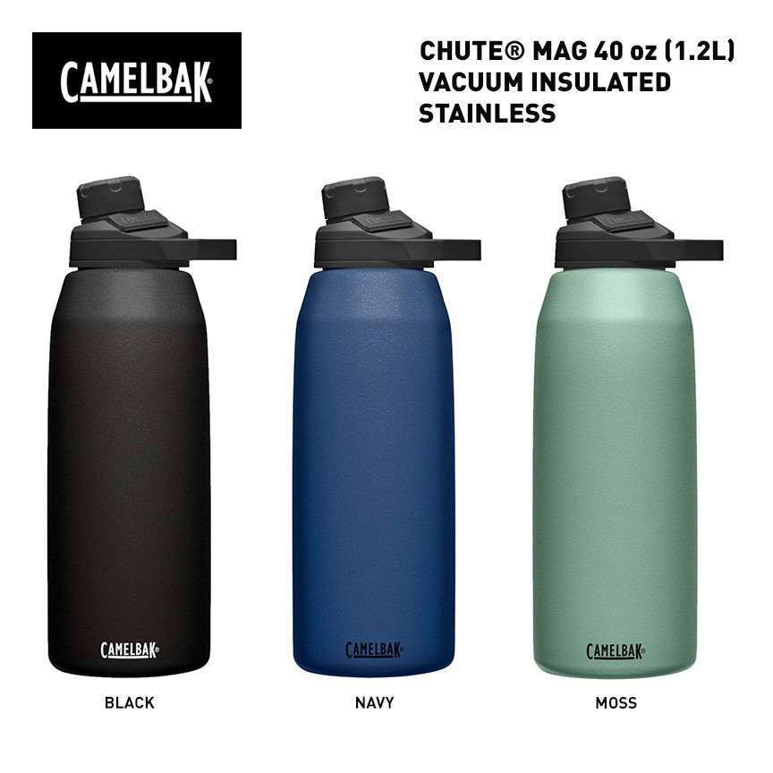 40 onz CamelBak Chute Mag Vacuum Insulated Stainless Steel Water Bottle,Cap
