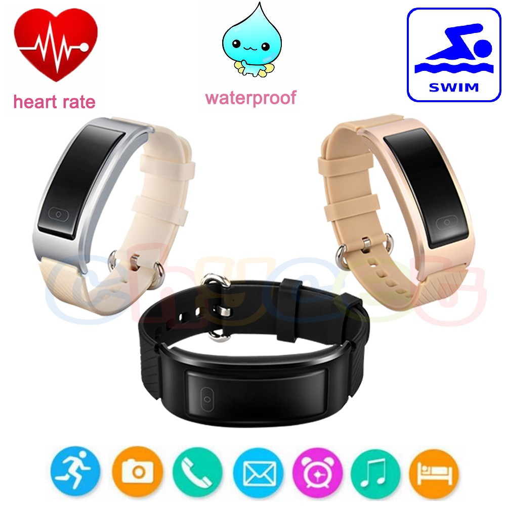 Bluetooth Smart Watch Wristband Bracelet Heart Rate Monitor Swimming Sport  DF23
