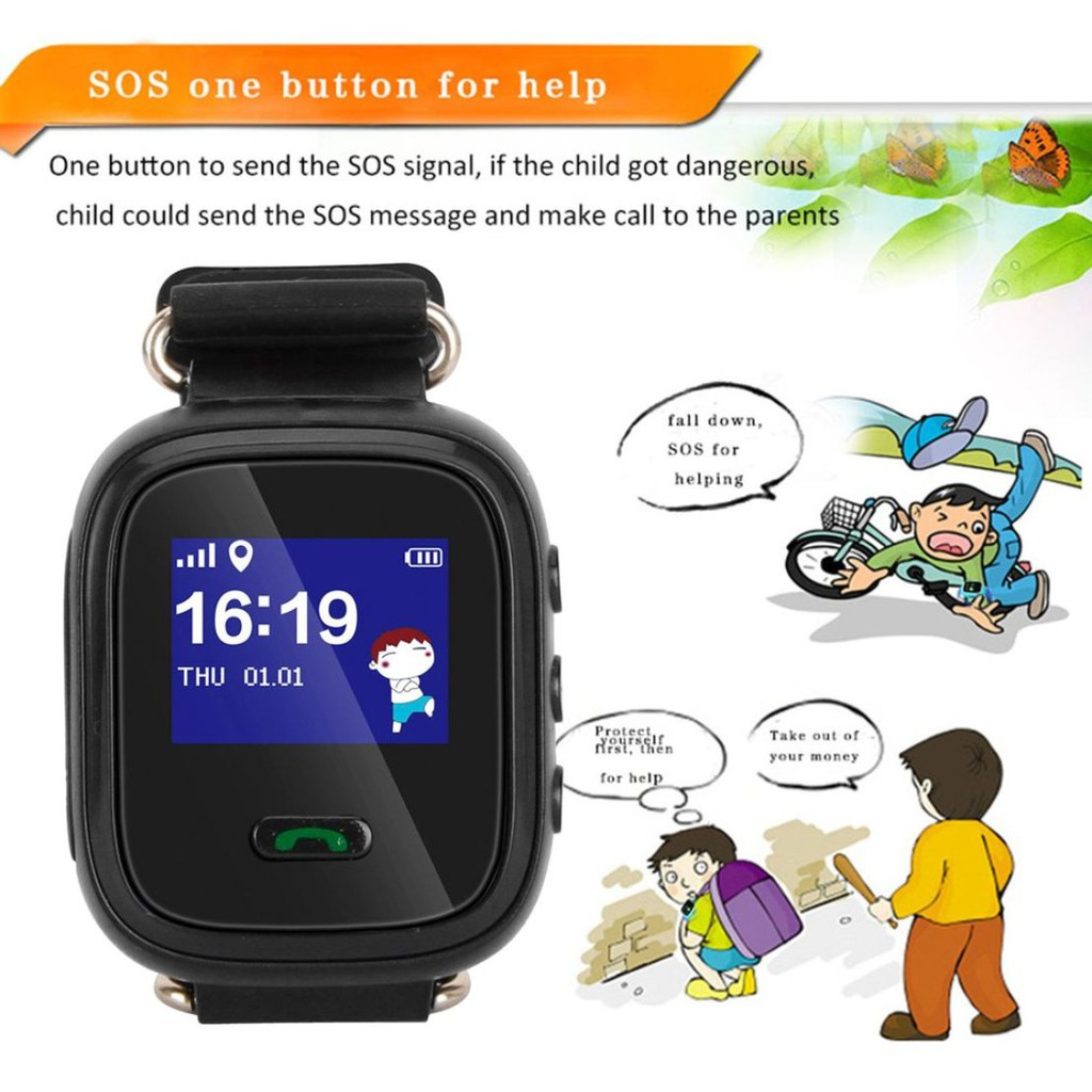 Children Smart Watch Safe-keeper Sos Call Anti-lost Monitor Real Time Tracker Base Station Location Lbs Watch Smartwatch Children's Watches
