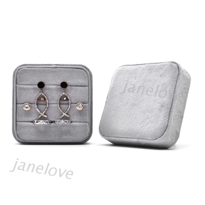 Square Velvet Ring Box Jewelry Box Valentine/'s Day Ring Box With Detachable Lid