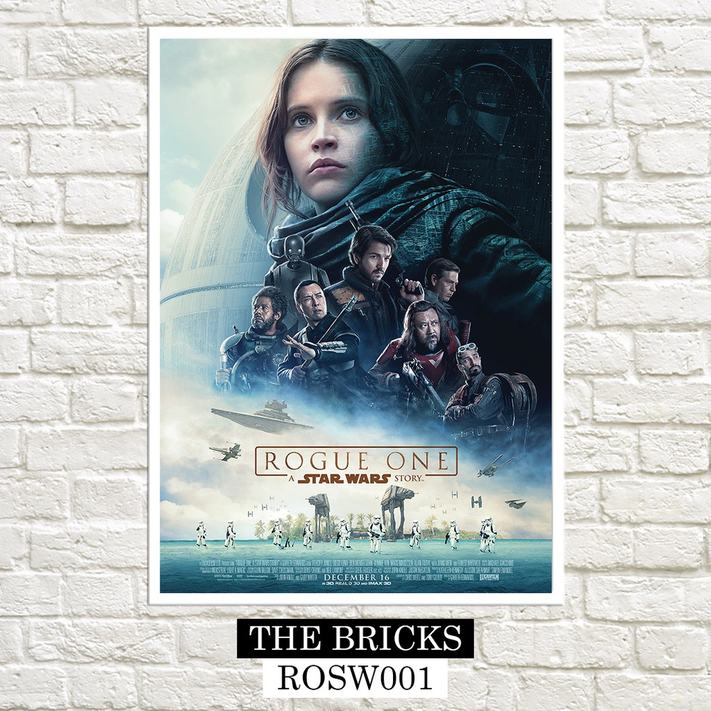 Rogue One A Star Wars Story 2016 Posters Shopee Philippines