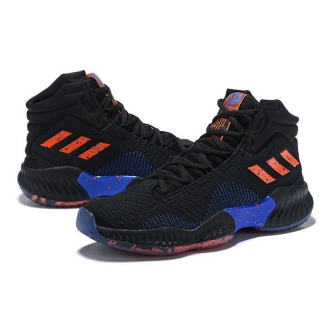 adidas Pro Bounce 2018 Shoes BlackRed White For Sale