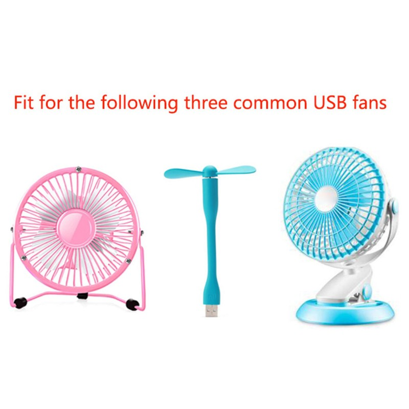 Mini USB Fan Governor Wind Speed air Volume Regulator Cooling Mute Multi Function Office Dormitory Bedside
