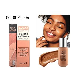 Makeup Foundation Liquid Long Lasting Full Coverage Face Concealer Base Matte Cosmetic Bb Cc Cream Shopee Philippines