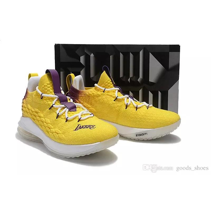 buy online 010f2 c5b7b Lebron 15 Low Free Lebron Socks/Free Voucher
