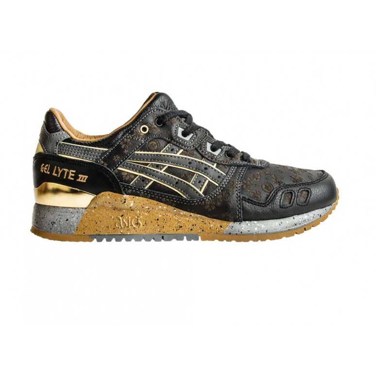 21bf2f11227c6 ASICS Gel Lyte III Black Limited Edt Vanda Kuro shoes