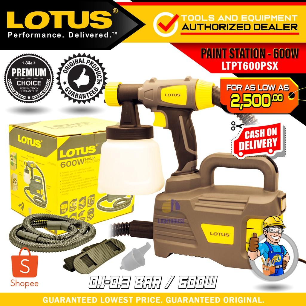 Lotus 600w Airless Hvlp Spray Gun Ltpt600psx Shopee Philippines