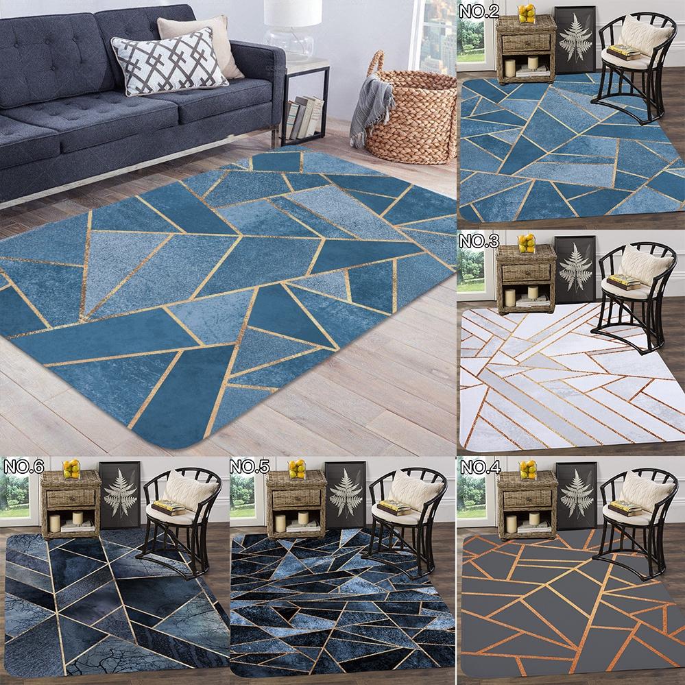 Carpet Living Room Geometric Gold Carpet Rugs Nordic Carpet Shopee Philippines