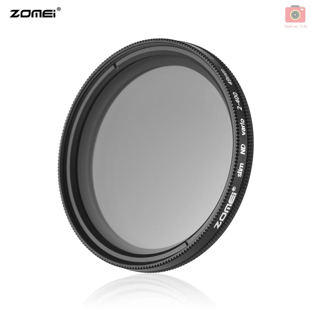 ZoMei 40.5mm Neutral Density Filter Fader Variable NDX Adjustable ND2 ND4 ND8 ND16 to ND400 Lens Filter