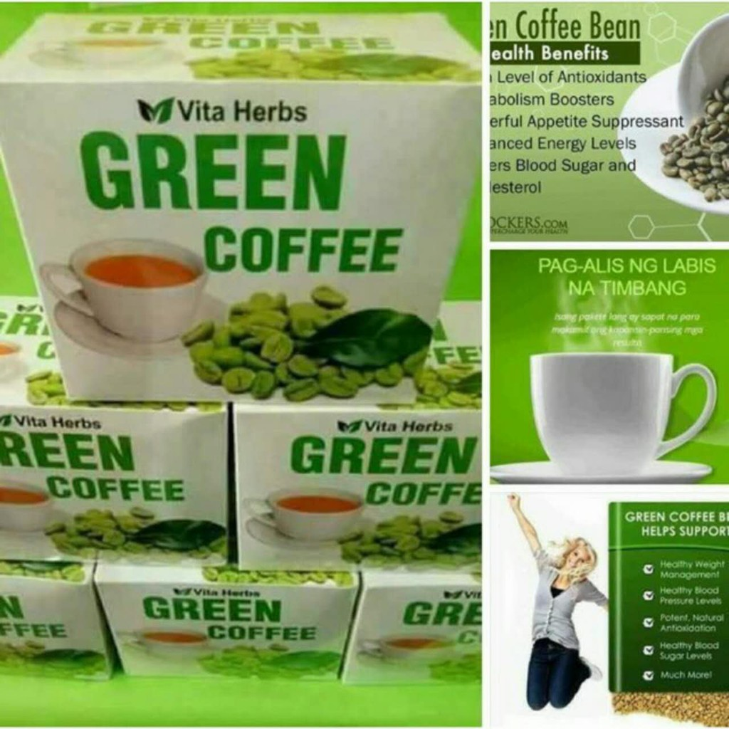 Green Coffee 3000 Bean Extract Capsule Shopee Philippines Leptin 1000
