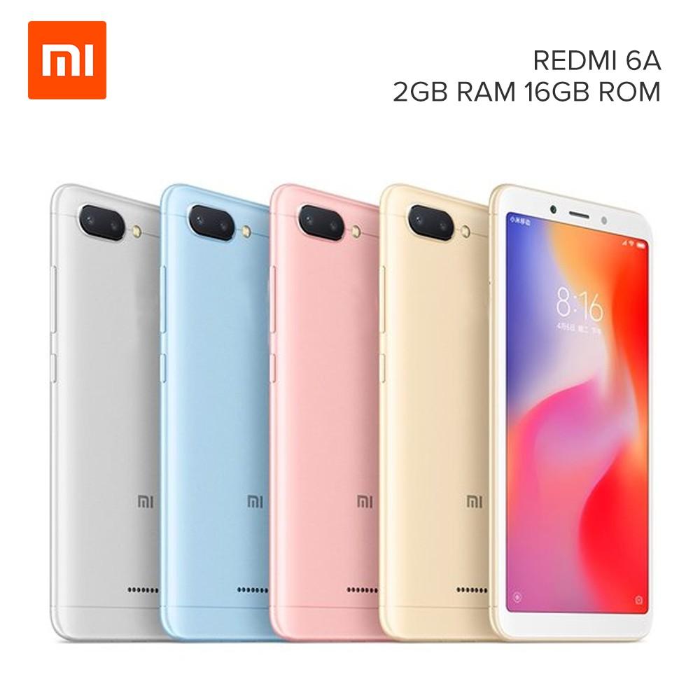 Xiaomi Redmi 6A 2GB RAM 16GB ROM Helio A22 2 0GHz