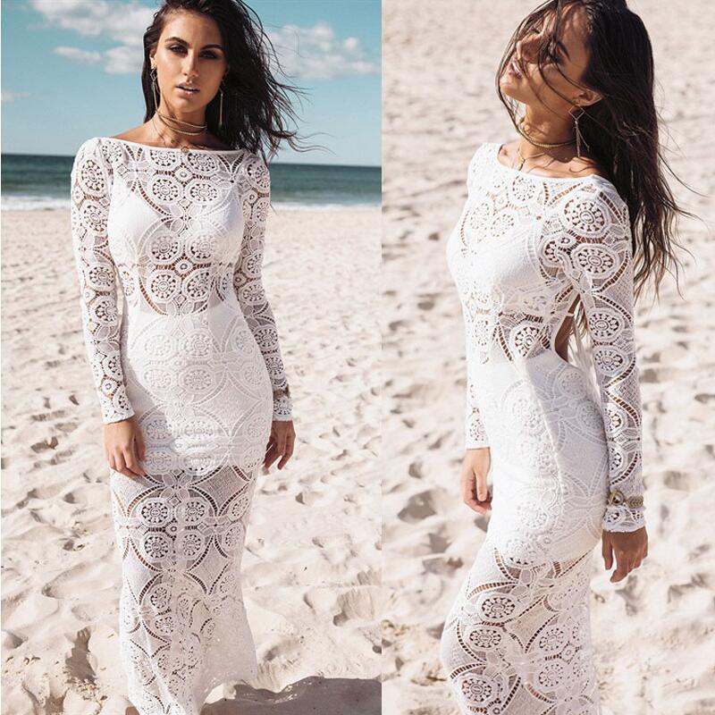 4d4b97015ec57 Wandergo Long Maxi Evening Party Dress Beach Dresses Sundress Ladies Womens