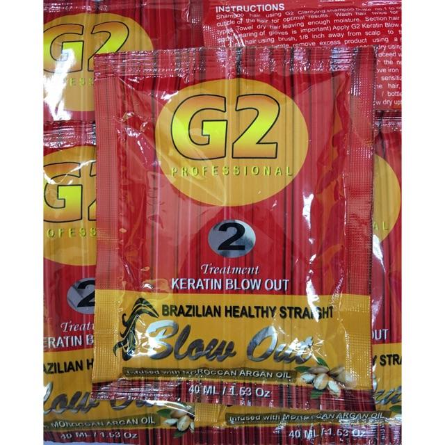 G2 keratin blowout