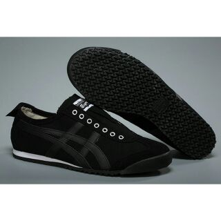info for 072cc a6fd1 Onitsuka Tiger Mexico 66 Slip On (Black/ Black) | Shopee ...