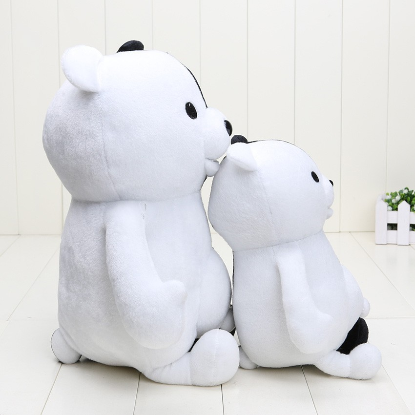 25//40cm Dangan Ronpa Super 2 Monokuma Black White Bear Plush Soft Stuffed Toy