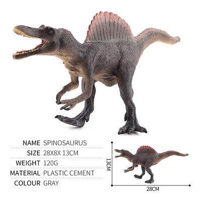 "11/"" inch Jurassic Realistic Spinosaurus Dinosaur Figure Collectible Kid Toy Gift"