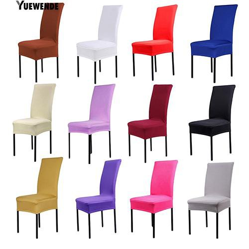 Astounding Dining Chair Covers Spandex Stretch Dining Room Chair Protector Slipcover Decor Bralicious Painted Fabric Chair Ideas Braliciousco