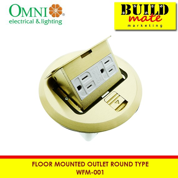 Omni Floor Mounted Outlet Round Wfm 001
