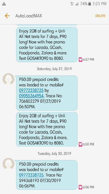 Gcash Promo July 2019