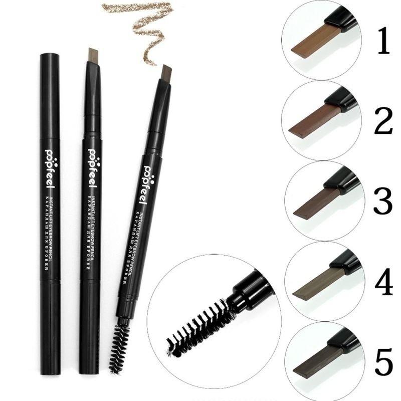 Women Beauty Eyebrow Enhancer Eyebrow Pencil Double Head
