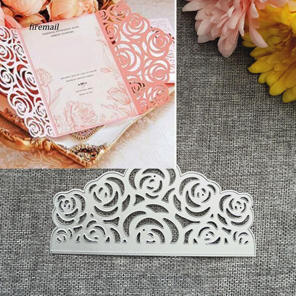 Hollow out flower frame Metal Cutting Dies Scrapbooking Album Paper Card\Sten M/&