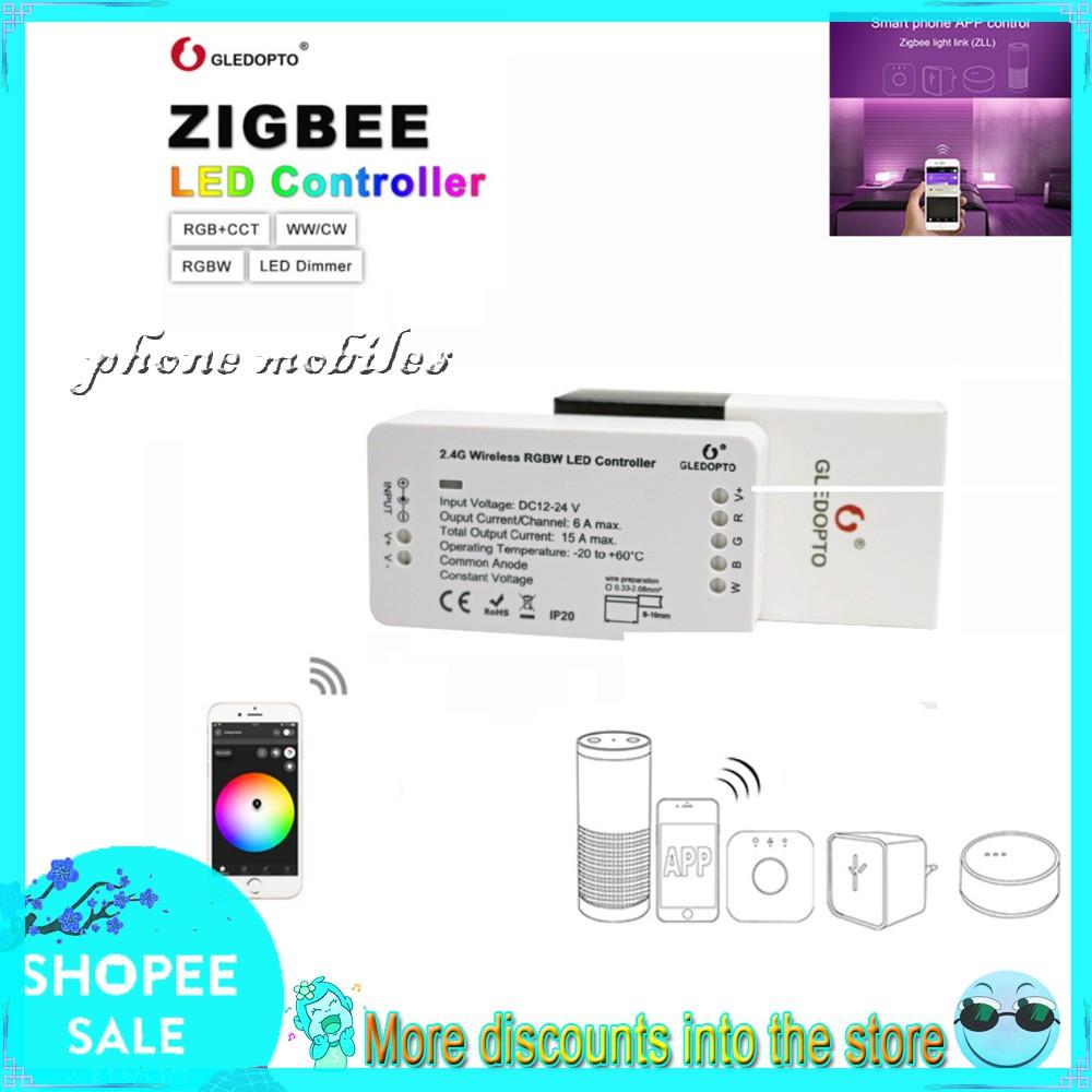 [ReadyStock] GLEDOPTO RGBW Tonal LED Light Wireless Bar Controller