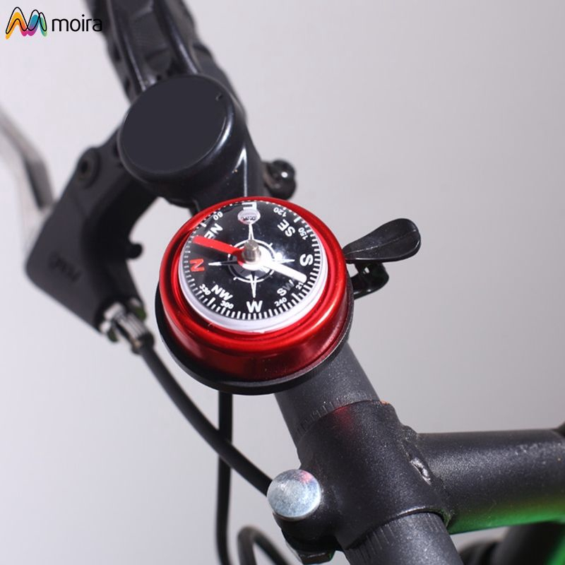 For Safety Bicycle Bell Compass Inside Motorized Bicycle Bell Horn Alarm