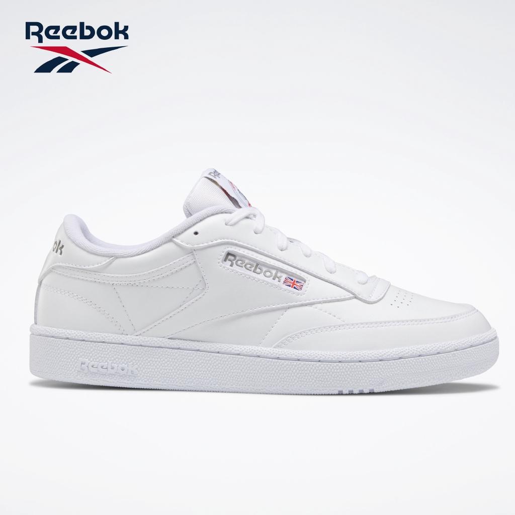 povero stretto Adeguata  Reebok Club C 85 Classic Unisex Shoes (White/Carbon) | Shopee Philippines