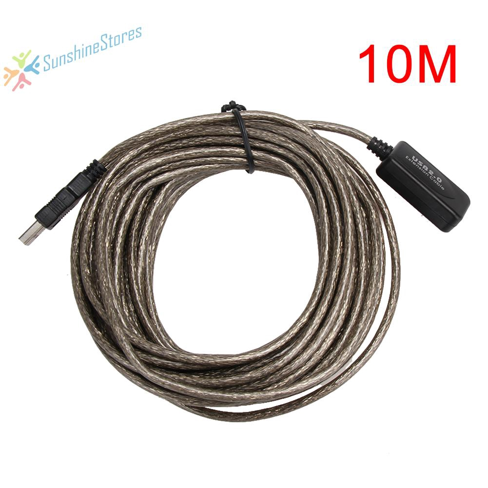 Cable 10m USB Extension Male Amplifier To Signal Extender Data Female Cable 2.0