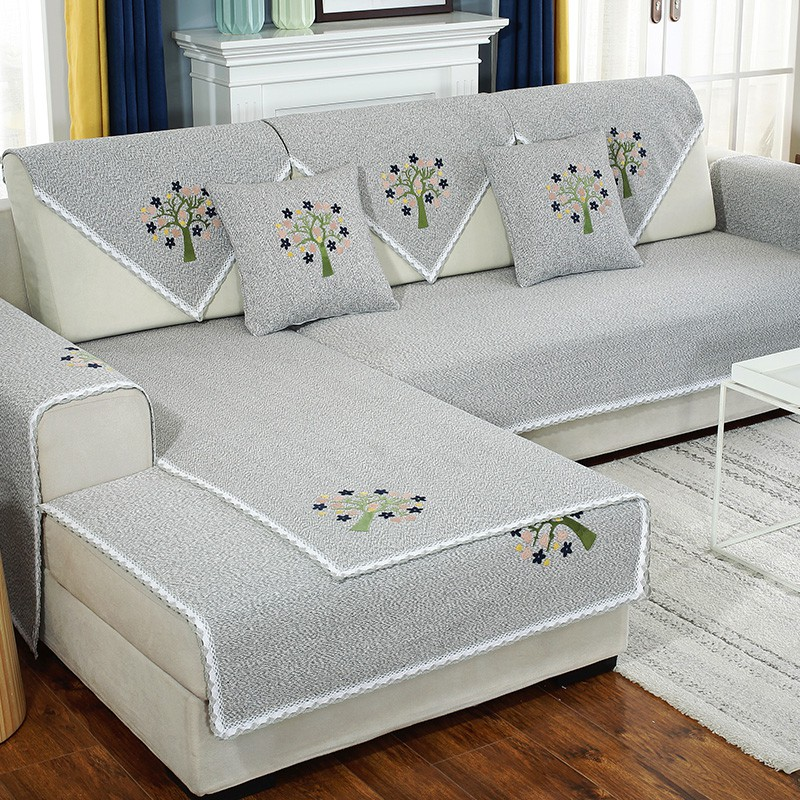 Sofa Cushion Cover Back Towel Full