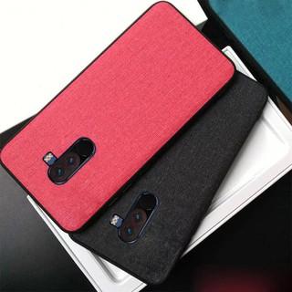 reputable site 1a53f d428d Xiaomi Pocophone F1 Cloth art Protective Back Cover Case   Shopee ...