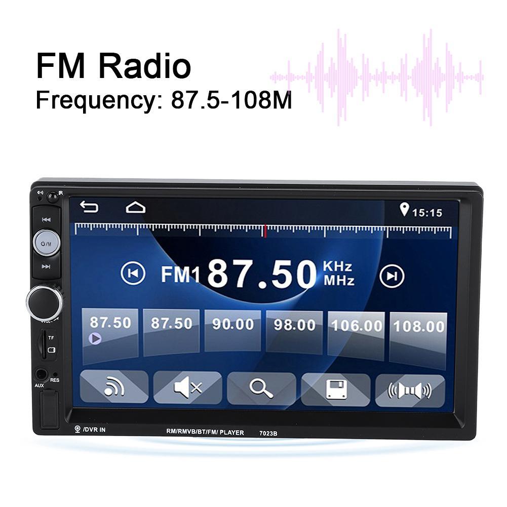 MP3 Display Control LCD K504 Radio AUX BT Audio Remote