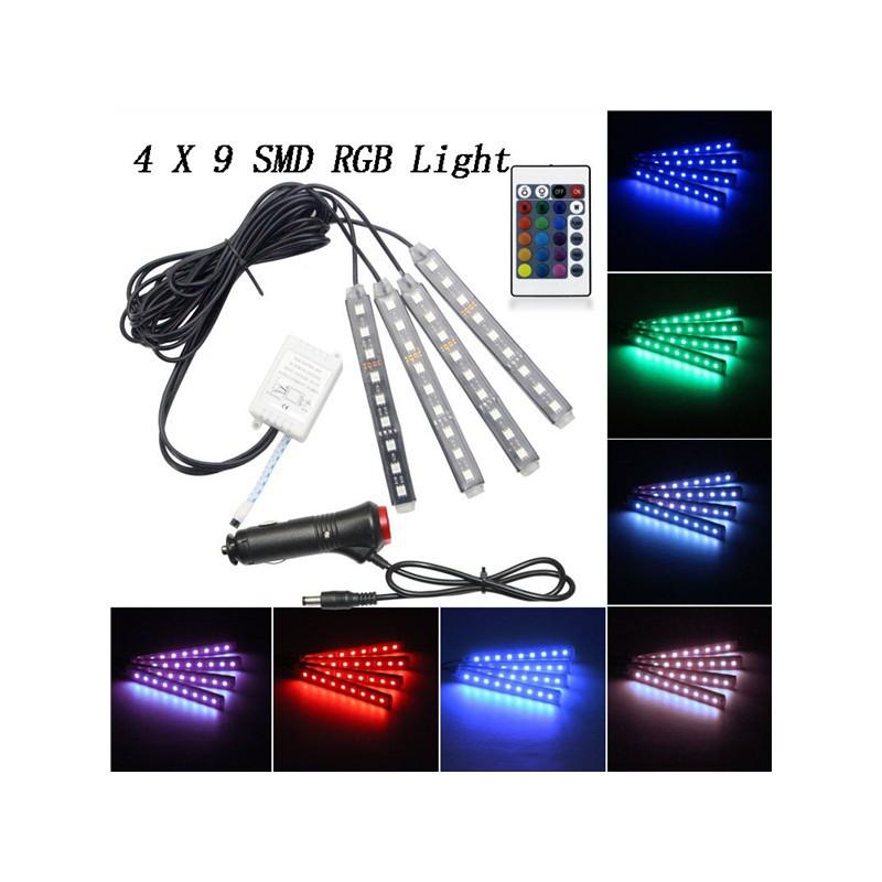 Symbol Of The Brand 5m 6w Led Rgb Bulb String Strip Light 24keypads Remote Dimmable Eu Plug Bright Lights & Lighting Led Lighting
